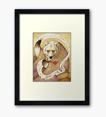 Healing Bear Framed Print
