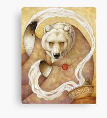 Healing Bear Canvas Print