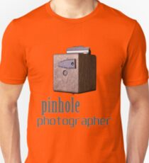 Pinhole photographer Unisex T-Shirt