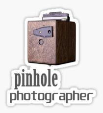 Pinhole photographer Sticker