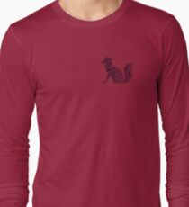 Black Fox Long Sleeve T-Shirt