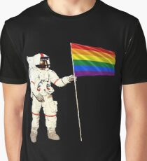 Moon Landing Pride Graphic T-Shirt