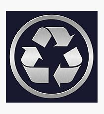 Metal Recycling Photographic Print