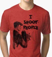 Vintage photographer Tri-blend T-Shirt