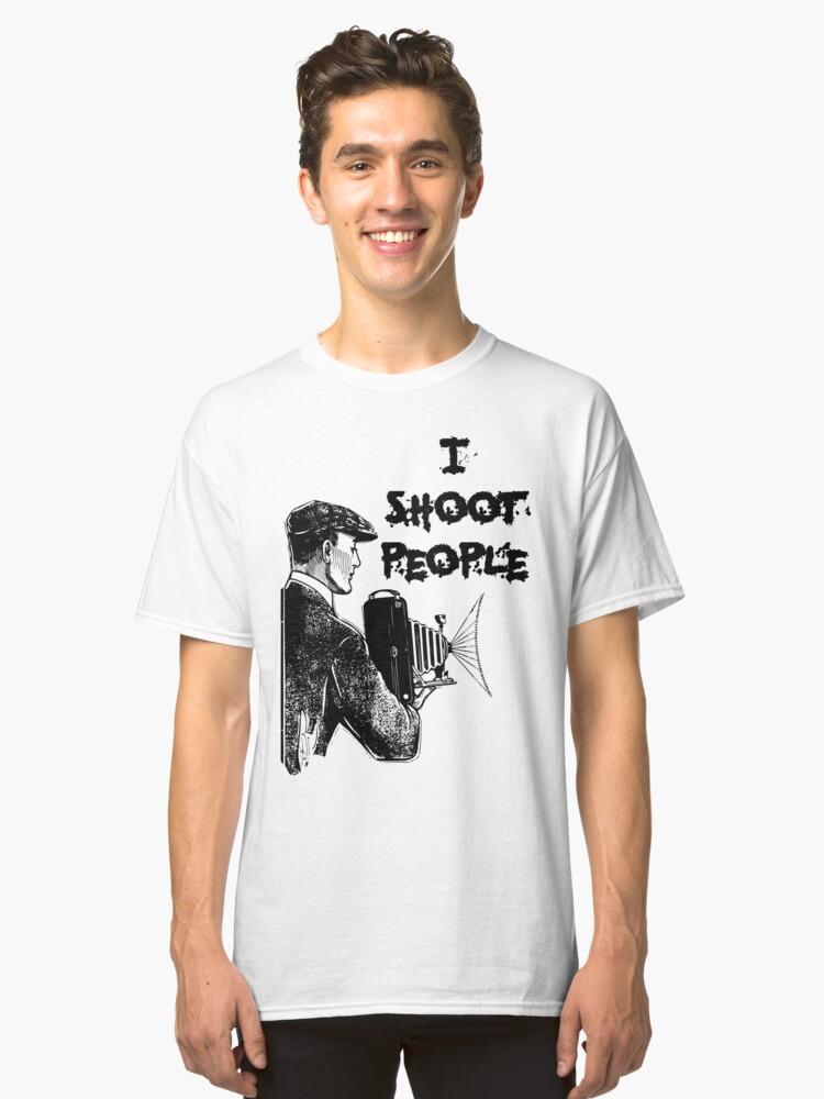 Vintage photographer Classic T-Shirt Front