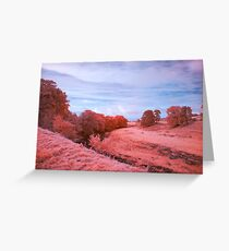 Alternate Landscape With A River Greeting Card