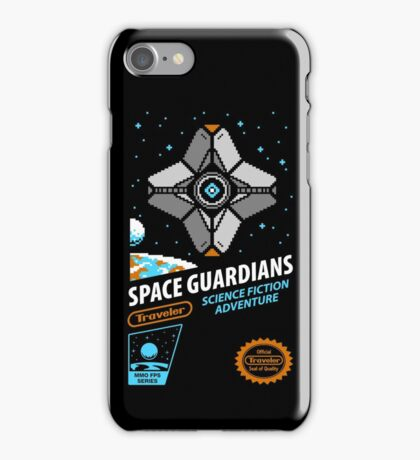 RETRO SPACE GUARDIANS iPhone Case/Skin