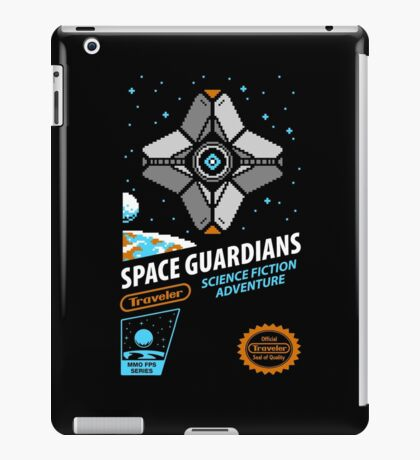 RETRO SPACE GUARDIANS iPad Case/Skin