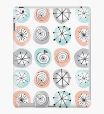 Retro Circle Pattern iPad Case/Skin
