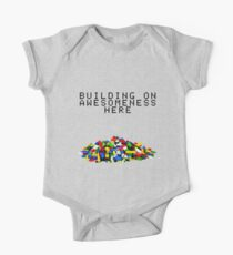 Building on Awesomeness  One Piece - Short Sleeve