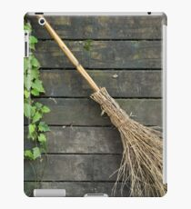 Witches broomstick iPad Case/Skin