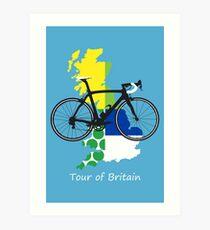 Tour of Britain Art Print