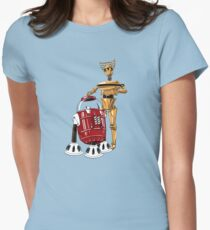 The Bots You're Looking For Women's Fitted T-Shirt