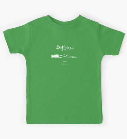 Buffying - Please wait Kids Clothes