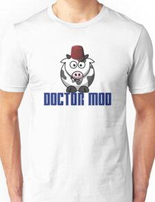 Doctor moo- Fez Unisex T-Shirt