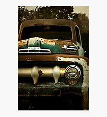 Abandoned 1952 Ford F-1 Pickup Photographic Print