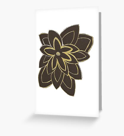 Styled Flower Greeting Card