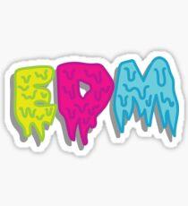 EDM Tricolor Sticker