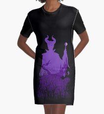 Mitternacht Maleficent T-Shirt Kleid