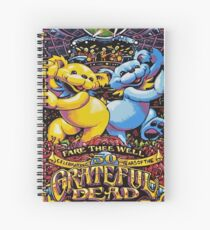 Grateful Dead - Fare Thee Well (50 Years) Spiral Notebook
