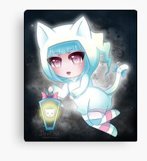 Shizuko - Kitty Ghost Girl 2016 Canvas Print