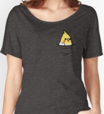 Too Many Birds! - Lutino Cockatiel Women's Relaxed Fit T-Shirt