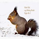 Christmas card 3 - Norwegian txt by Bente Agerup
