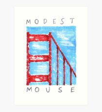 Modest Mouse Art Print