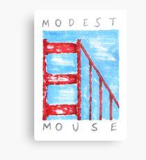 Modest Mouse Metal Print