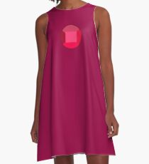 Garnet's Gem  A-Line Dress