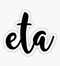 eta Sticker