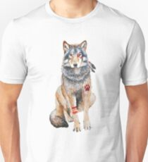 Native Wolf Unisex T-Shirt