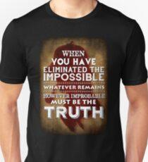 Sherlock Holmes Strand Magazine Quote T-Shirt