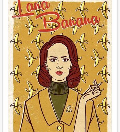 Lana Banana Sticker