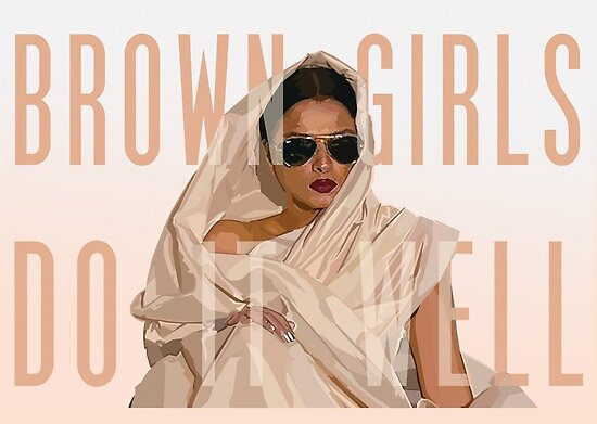 Brown Girls Do It Well by peatreebojangle