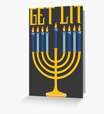 Get Lit Greeting Card