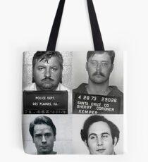 Serial Killers Mugshot  Tote Bag