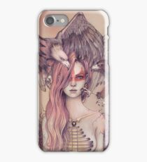 Eagle princess iPhone Case/Skin