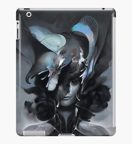 The Carrion Widow from Below the Cliffs iPad Case/Skin