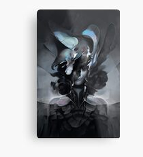 The Carrion Widow from Below the Cliffs Metal Print