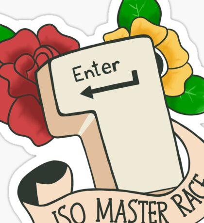 ISO Master Race Sticker