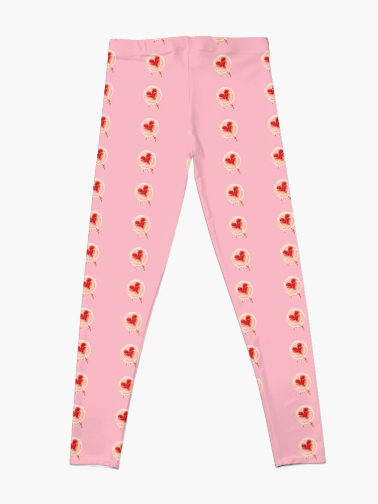 Alternate view of Lollypop with Heart Leggings