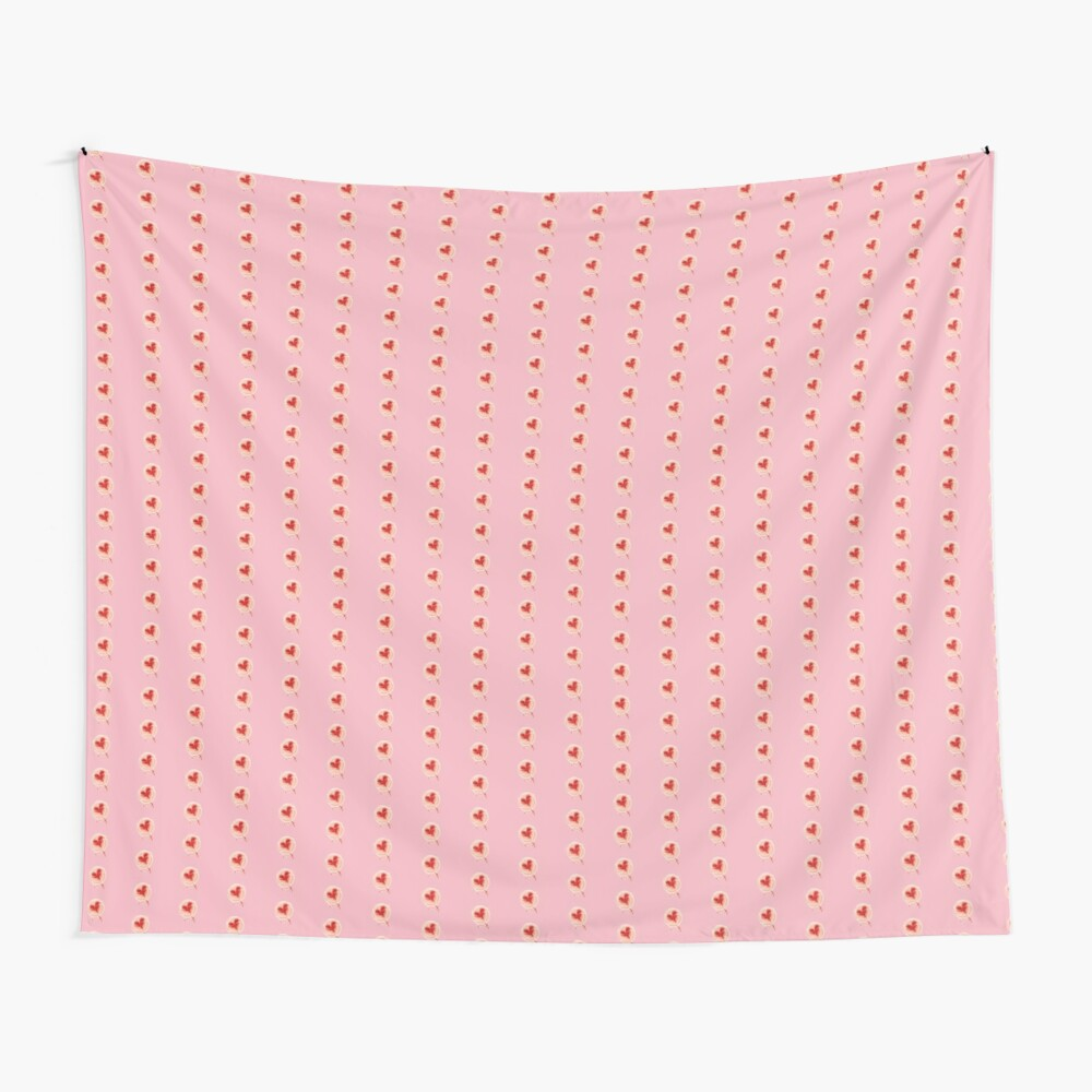 Lollypop with Heart Wall Tapestry