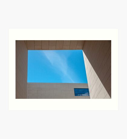Sky Window Art Print