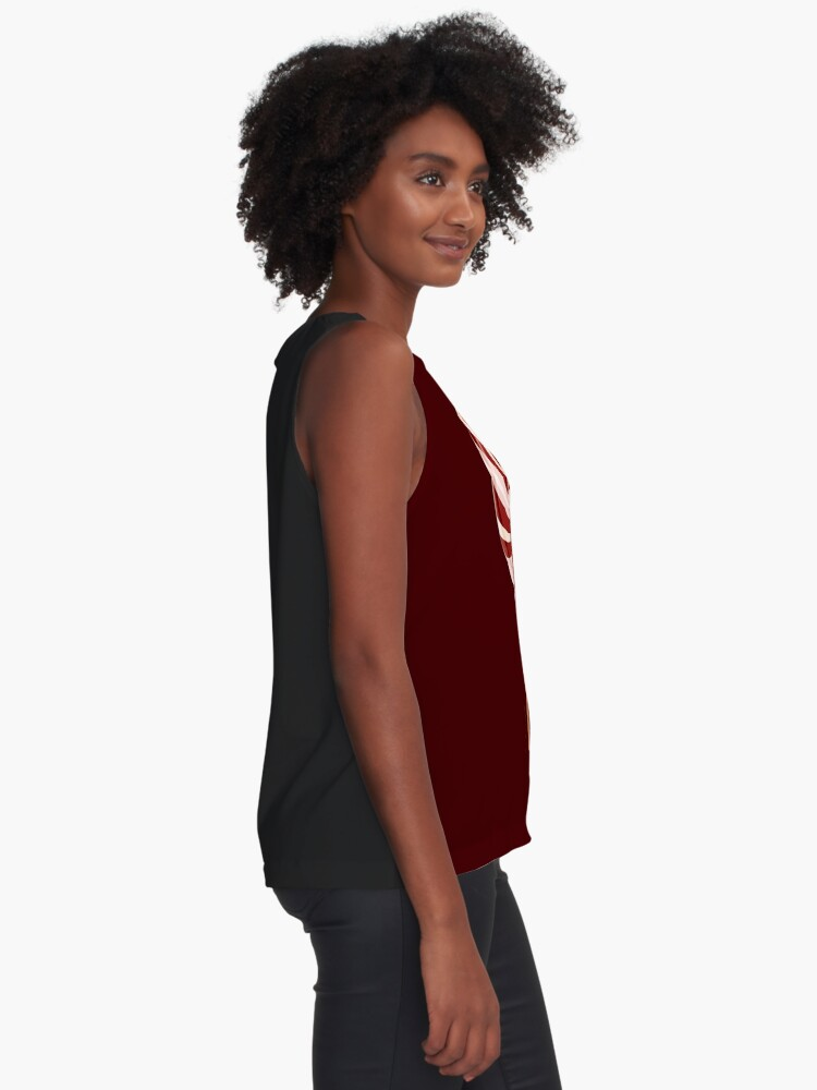 Alternate view of Chocolate Lollypop Sleeveless Top