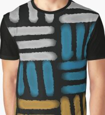 Geometric Pattern Block No. 10 Graphic T-Shirt