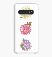 Decorative Roses Case/Skin for Samsung Galaxy
