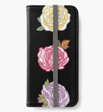 Decorative Roses iPhone Wallet/Case/Skin