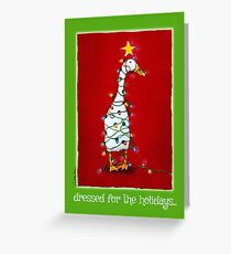 Will Bullas card / dressed for the holidays... Greeting Card
