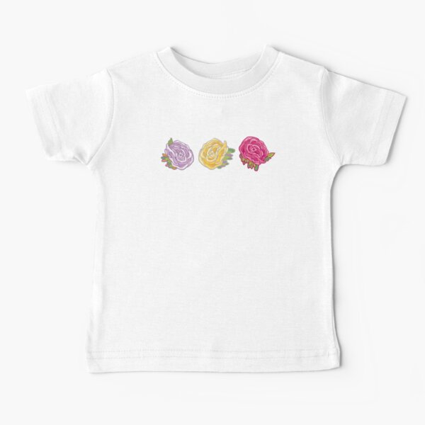 Decorative Roses Baby T-Shirt